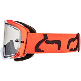 Fox Vue Dusc Goggles fluorescent orange/clear